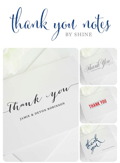 Wedding Thank You Notes by Wedding Thank You Notes Wedding Invitations