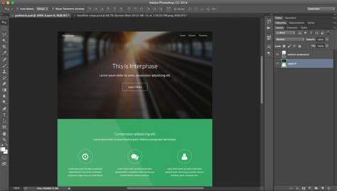 design website mockup with photoshop the quickest way to create mockups from a live website