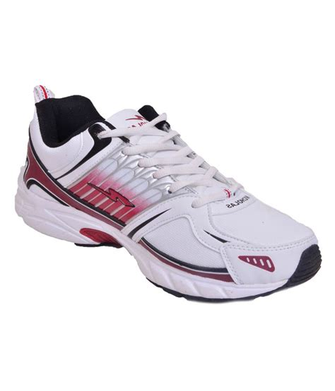 nicholas sport shoes nicholas white synthetic leather sport shoes price in
