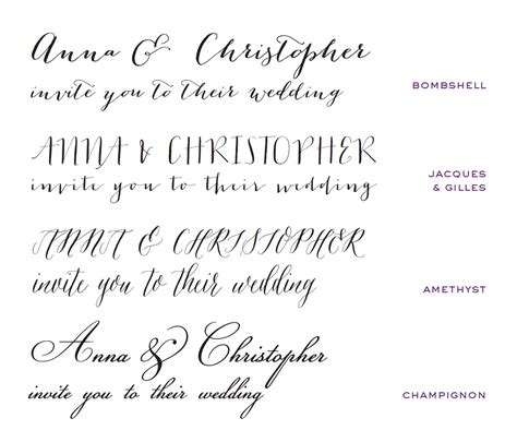 Wedding Invitations Fonts by Wedding Invitation Fonts Card Design Ideas