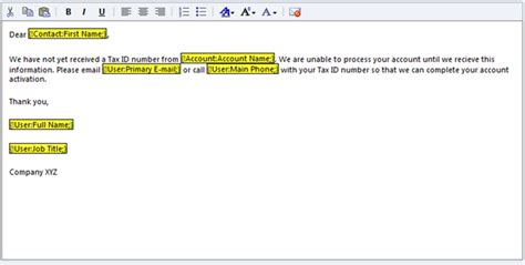 Create An Email Template In Crm 2011 Change Of Email Address Email Template