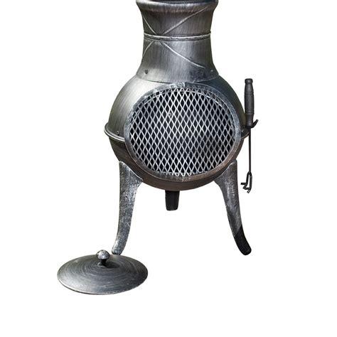 la hacienda panama cast iron chimenea departments diy