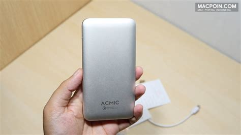 Powerbank Untuk Iphone rekomendasi power bank untuk iphone acmic a10 pro macpoin