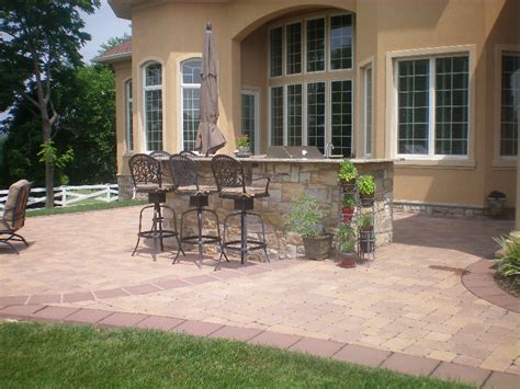 Paver Patios Divine Landscaping Inc Patio Designs Pictures