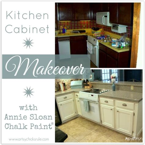 kitchen cabinet chalk paint kitchen cabinet makeover sloan chalk paint