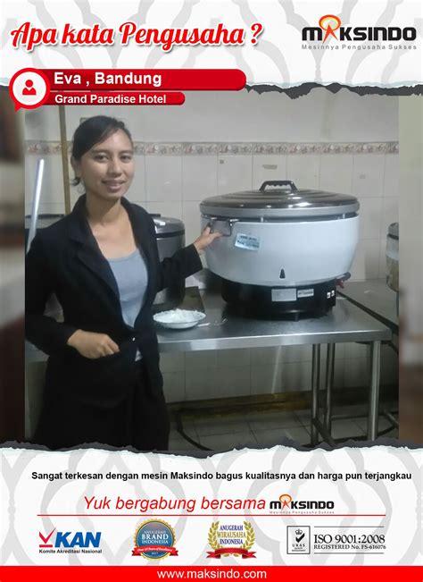 Rice Cooker Kapasitas 5 Liter rice cooker gas kapasitas 30 liter grc30 toko mesin