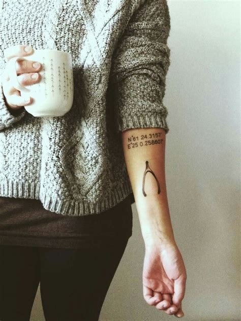 wishbone tattoo 37 best images on wishbone ink and