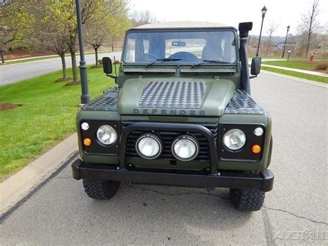 land rover defender convertible for sale 1990 land rover defender 90 convertible restored for sale