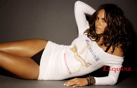 Halle Berry And Damn In Esquire Egotastic by Halle Berry The Sexiest Alive 2008