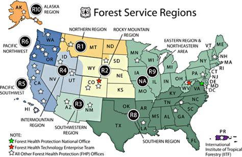 forest service region map forest service forest service region 5