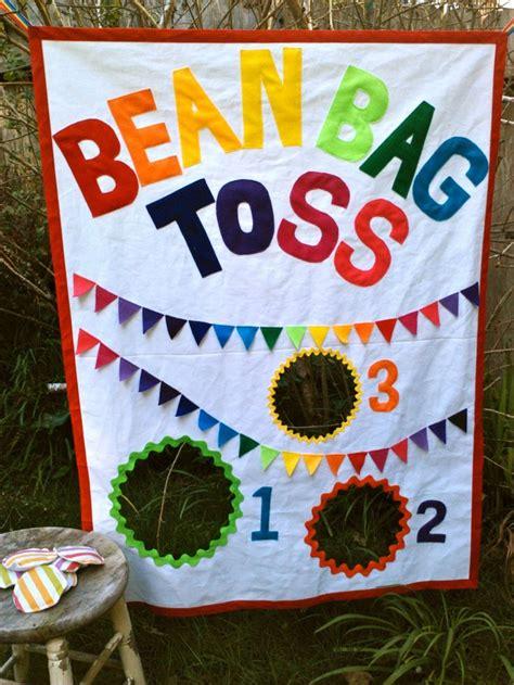 canvas bean bag toss bean bag toss with bean bags rainbow theme