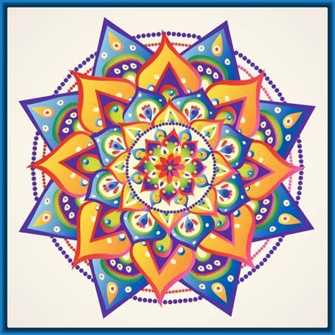 imagenes de mandalas faciles a color fotos de mandalas f 225 ciles para dibujar dibujos de mandalas