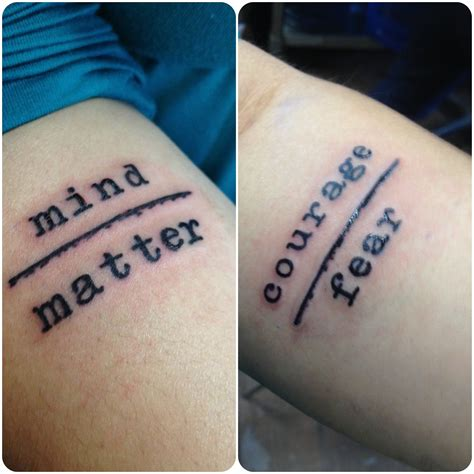 mind over matter tattoos mind matter designs search s
