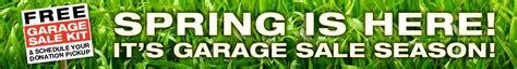 Post Garage Sale Free by Free Garage Sale Kit