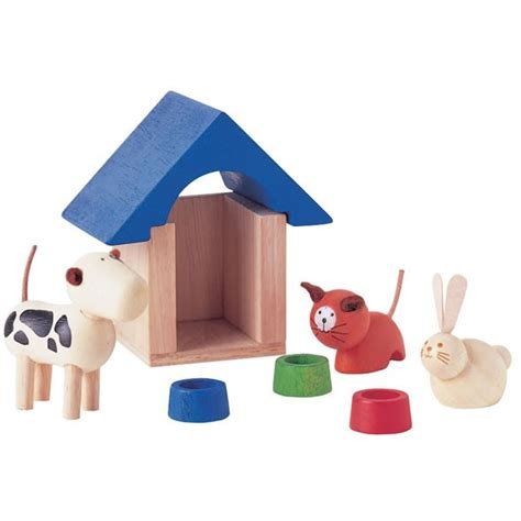 Dolls House Pets Accessories Plan Toys