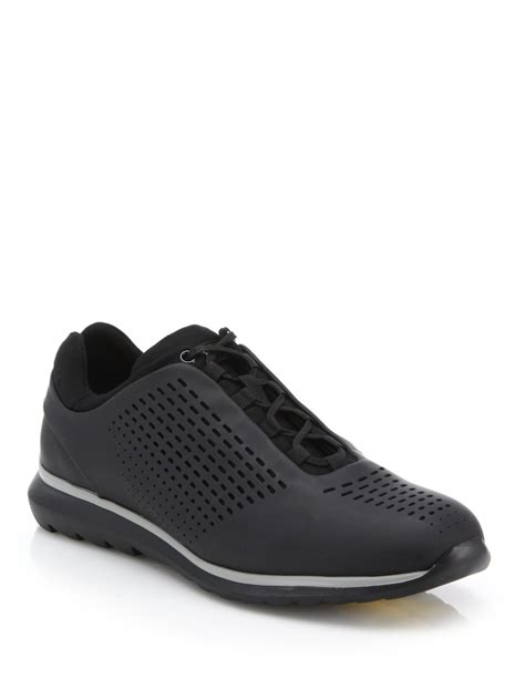 zegna shoes lyst z zegna sprinter sneakers in black for
