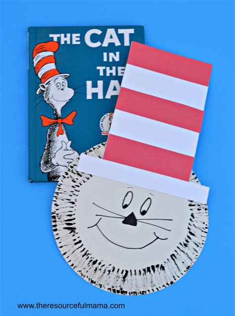 Cat In The Hat Paper Plate Craft - 267 best everything dr seuss images on dr
