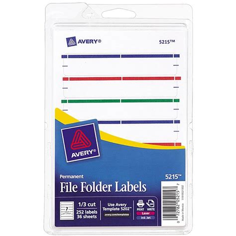 file folder labels template avery print or write assorted file folder labels