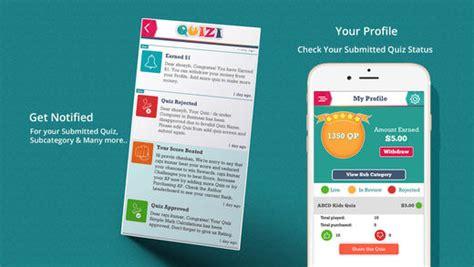 quiz game layout quizi play quiz make quiz earn money apprecs