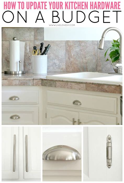 how to update kitchen cabinets cheap best 25 kitchen cabinet hardware ideas on pinterest