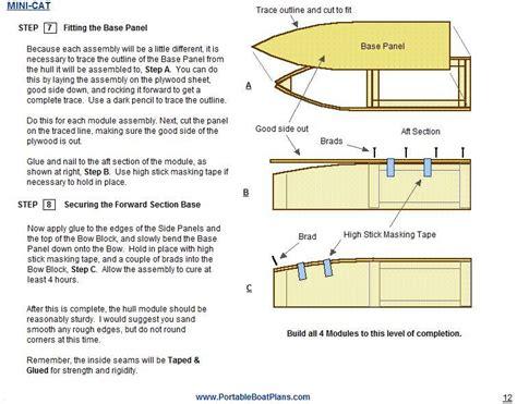 mini boat challenge portable boat plans