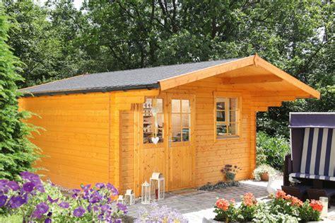 Gartenhaus 171 360x300cm Holzhaus Bausatz 44mm 187 Holz