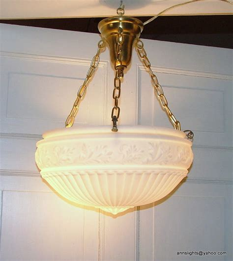 Vintage Hanging Light Fixtures Antique Ceiling Light Fixture Vintage Inverted Dome Suspension