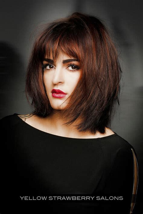 textured shoulder length hairstyles round face the 37 most flattering bob hairstyles for round faces