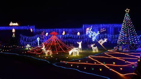 the courier christmas lights map ballarat