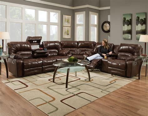 franklin reclining sofa with drop table franklin legacy reclining sectional sofa with drop table