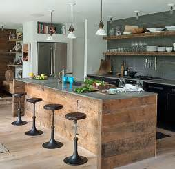 Kitchen Island Rustic Two Ways To Create Rustic Kitchen Island My Kitchen
