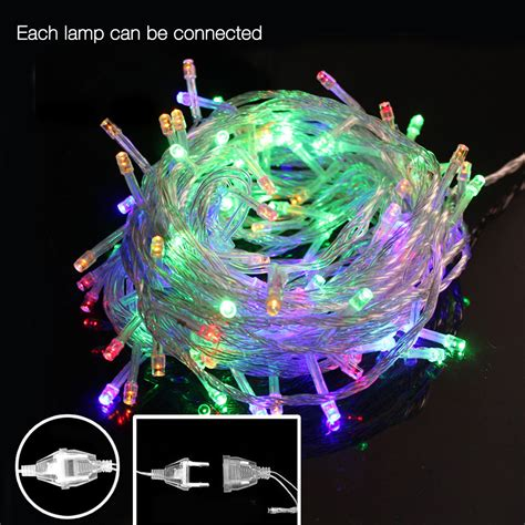 on sale led christmas tree light 10m 50leds led string