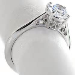 solitaire engagement ring in cedar rapids iowa with