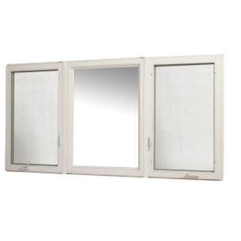 home depot awning window tafco windows 95 in x 48 in vinyl casement window with