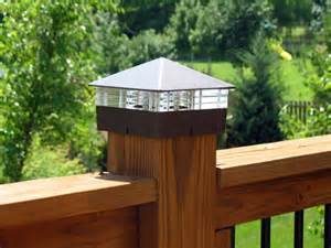 25 best ideas about deck post lights on patio