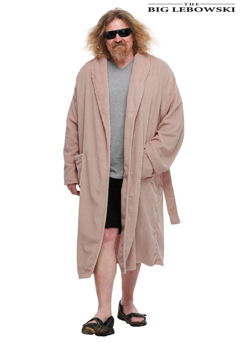 Big Dude the big lebowski the dude bathrobe
