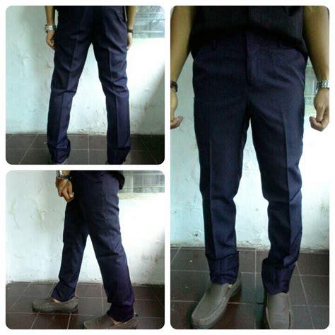 Celana Celana Panjang Pria Reguler Fit jual celana bahan kantor formal model slim fit reguler