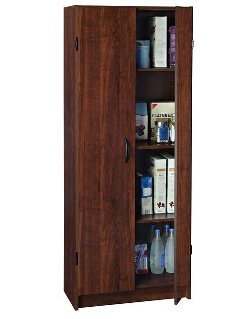 pantry wood cabinet home kitchen storage space organizer