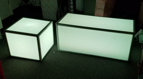 Light Up Coffee Table by Light Up Rgb Led Coffee Table Set