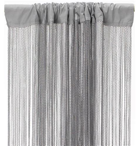 silver fringe curtain wave fringe curtain silver grey dzd