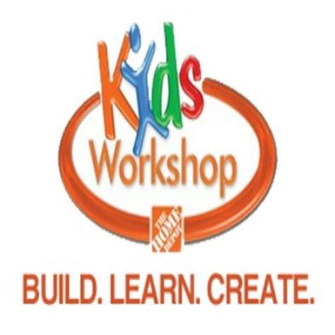 home depot kids workshops free weekly workshops home home depot free kids workshop january 2 kids activities