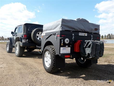 jeep offroad trailer custom built jeep off road cer trailer alberta