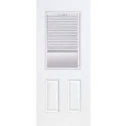 Exterior Door With Blinds Between Glass by Blinds Between The Glass Steel Doors Front Doors Exterior Doors Doors Windows The