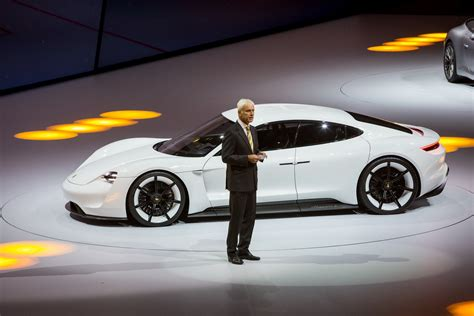 porsche mission price porsche stuns frankfurt with all electric mission e sports