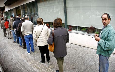 oficina de empleo valencia el paro repunta en 380 personas en la comunidad valenciana