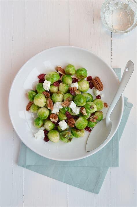 uit eigen keuken spruitjes gewokte spruitjes met cranberry s uit paulines keuken