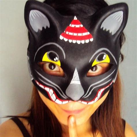 How To Make A Cat Mask With Paper - popular paper pulp mask buy cheap paper pulp mask lots