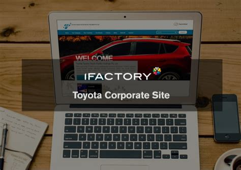 toyota corporate website toyota corporate website design by ifactory