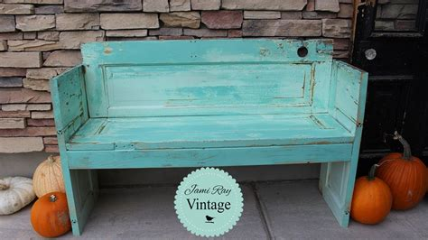 how to make a bench out of old chairs how to build a bench out of an old door diy bench jami