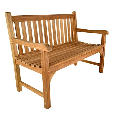 3ft garden bench warwick 2 seat teak bench 120cm 3ft 11in 163 259 99